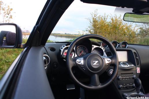 Rijtest Nissan 370Z Roadster