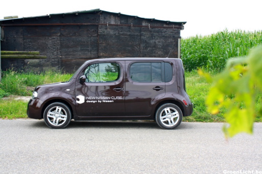 Rijtest Nissan Cube