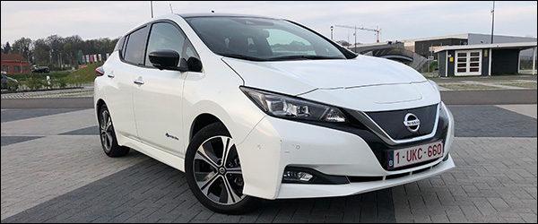 Rijtest: Nissan Leaf EV 40 kWh (2018)