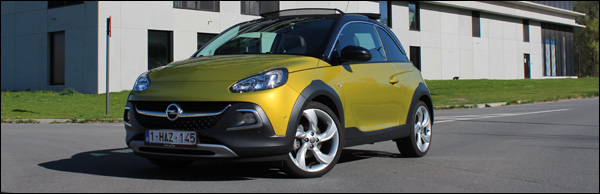 Rijtest - Opel Adam Rocks - Header