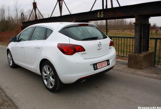 Rijtest Opel Astra Turbo 10