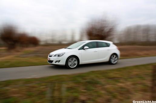 Rijtest Opel Astra Turbo 2