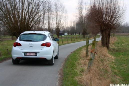 Rijtest Opel Astra Turbo 4