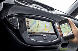 Opel Corsa IntelliLink: BringGo Navigation App