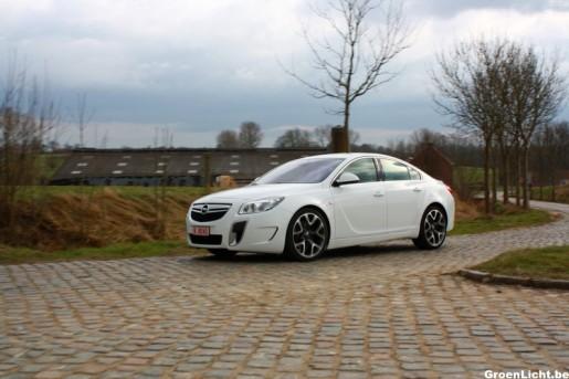 Rijtest Opel Insignia OPC 14