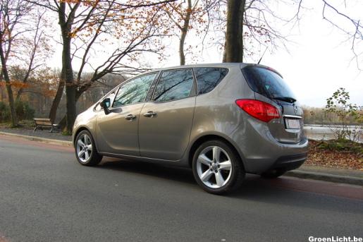 Rijtest Opel Meriva