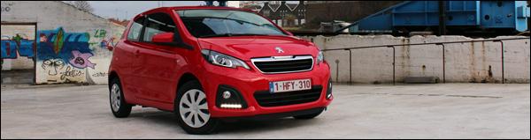 Rijtest - Peugeot 108 - Header