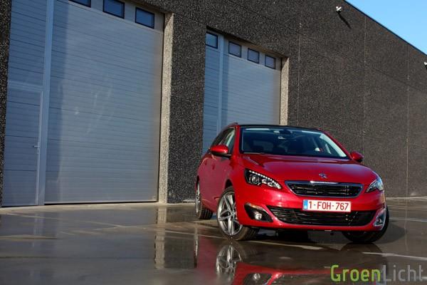 Rijtest - Peugeot 308 SW - MY2014 01