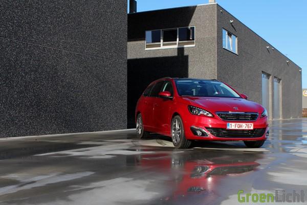 Rijtest - Peugeot 308 SW - MY2014 02