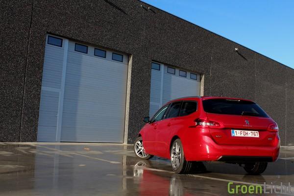 Rijtest - Peugeot 308 SW - MY2014 05
