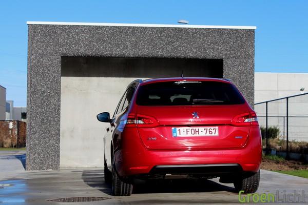Rijtest - Peugeot 308 SW - MY2014 07