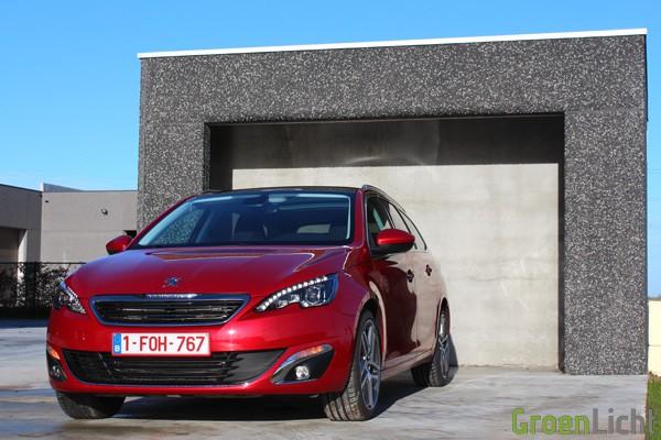 Rijtest - Peugeot 308 SW - MY2014 08