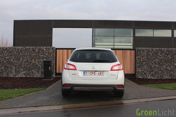 Rijtest - Peugeot 508 RXH Facelift - MY2014 09