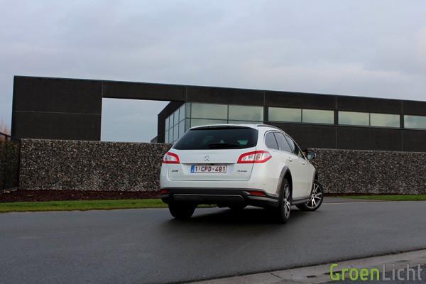 Rijtest - Peugeot 508 RXH Facelift - MY2014 15