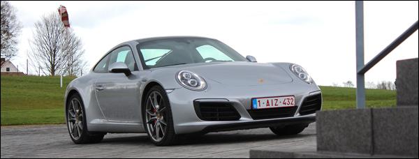 Rijtest - Porsche 911 Carrera S - Header
