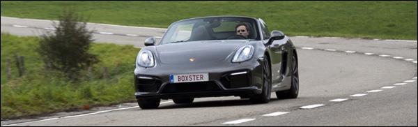 Rijtest - Porsche Boxster GTS - Header