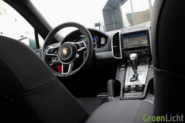Rijtest - Porsche Cayenne S 15