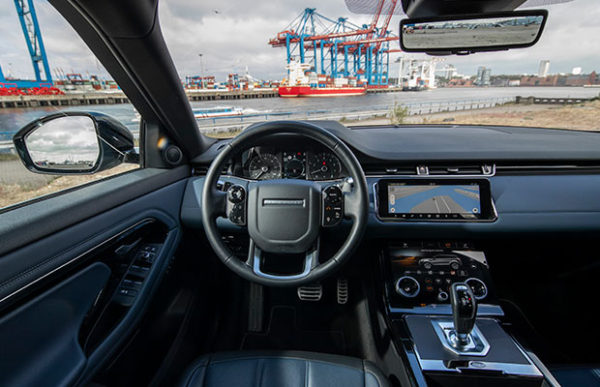 Rijtest Range Rover Evoque SUV P200 AWD (2019)