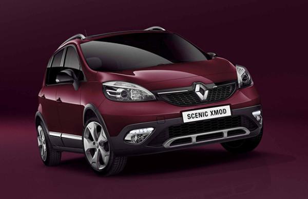 Rijtest Renault Scenic XMOD