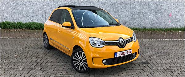 Rijtest: Renault Twingo TCe 95 facelift (2019)