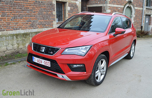rijtest seat ateca fr 2 0 tsi 4drive 2018. Black Bedroom Furniture Sets. Home Design Ideas
