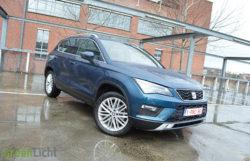 Rijtest Seat Ateca SUV 1.4 TSI 150 pk Xcellence