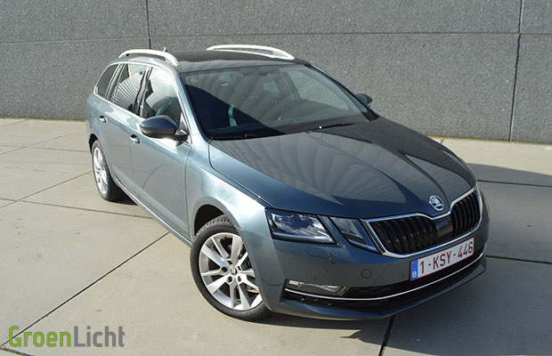 rijtest skoda octavia combi 2 0 tdi 150 pk facelift 2017. Black Bedroom Furniture Sets. Home Design Ideas