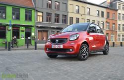 Rijtest: Smart ForFour 71 pk Prime