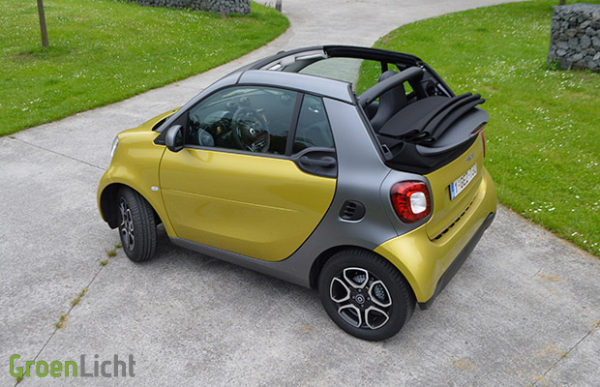 Rijtest Smart ForTwo Cabrio 2016 71 pk Prime