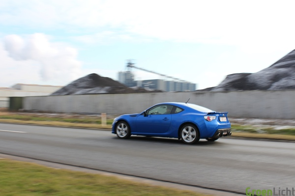Rijtest Subaru BRZ