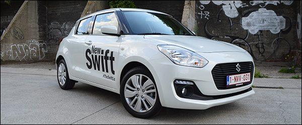 Rijtest: Suzuki Swift 1.0 GL+ (2017)