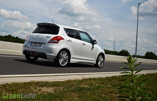 Rijtest: Suzuki Swift 1.6 Sport 2013