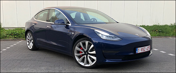 Rijtest: Tesla Model 3 Performance (2019)