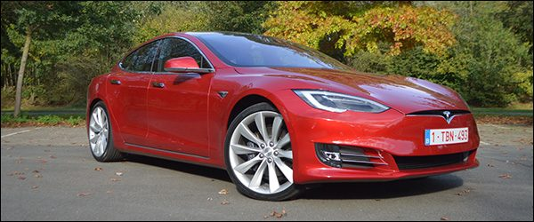 Rijtest Tesla Model S 100D berline EV (2017)