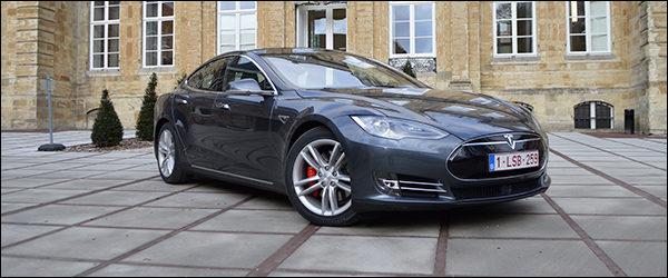 Rijtest: Tesla Model S P90D