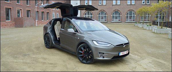 Rijtest: Tesla Model X P100D (2017)