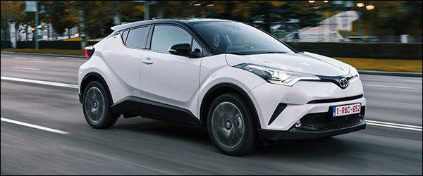 Rijtest: Toyota C-HR 1.2 Turbo (2017)