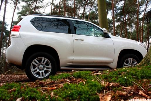 Rijtest Toyota Land Cruiser 05