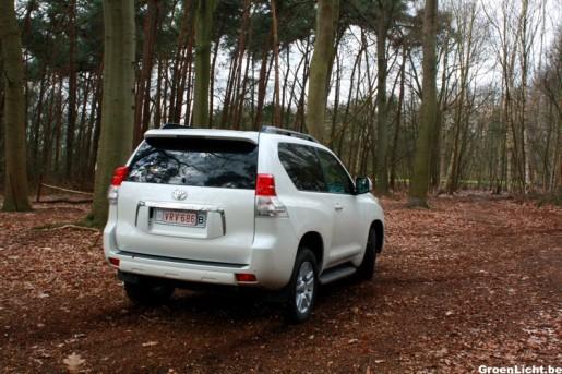 Rijtest Toyota Land Cruiser 15