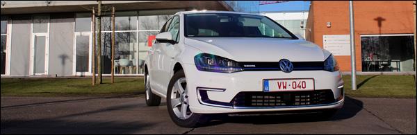 Rijtest - Volkswagen E-Golf - Header