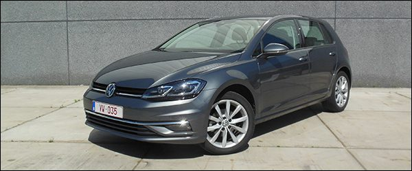 Rijtest Volkswagen Golf 1.0 TSI 110 pk BlueMotion DSG facelift 2017