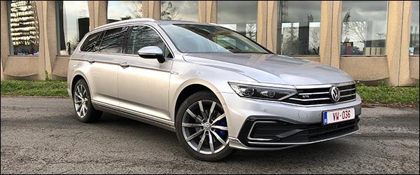 Rijtest: Volkswagen Passat Variant GTE facelift (2019)