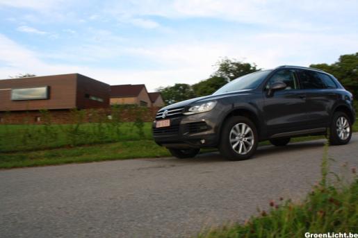 Rijtest Volkswagen Touareg
