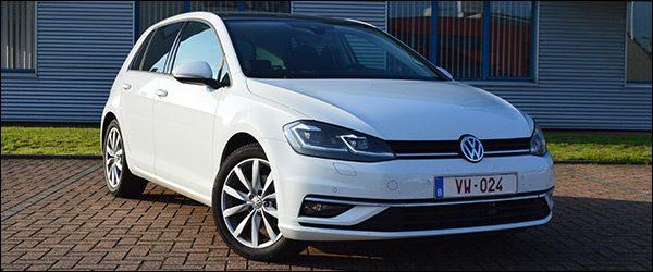 Rijtest Volkswagen VW Golf 1.5 TSI Evo DSG facelift (2017)