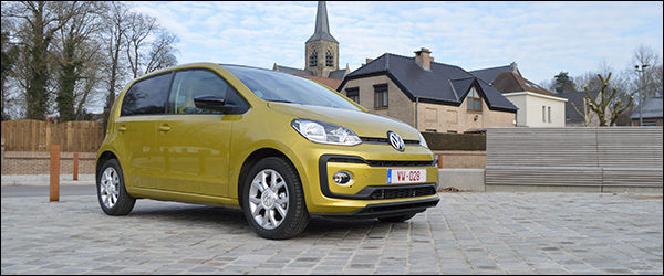 Rijtest: Volkswagen up! 1.0 TSI 90 pk High (2016)