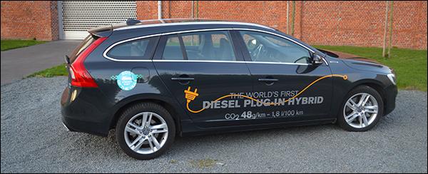 Rijtest: Volvo V60 D6 AWD Plug-In Hybrid 2013