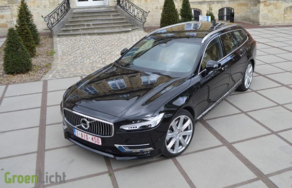 Rijtest: Volvo V90 Break D5 AWD (2016)
