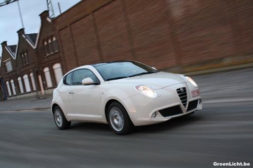 Alfa Romeo MiTo 1.3 JTDm met 104 gram CO2 | GroenLicht.be