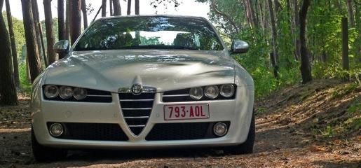 Alfa Romeo 159 Ti 1750 TB 200 Pk rijtest