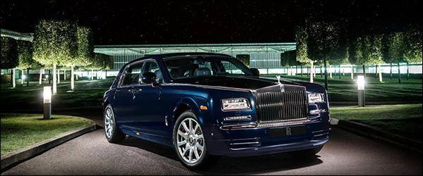 Rolls-Royce Bespoke Celestial Phantom Diamonds update